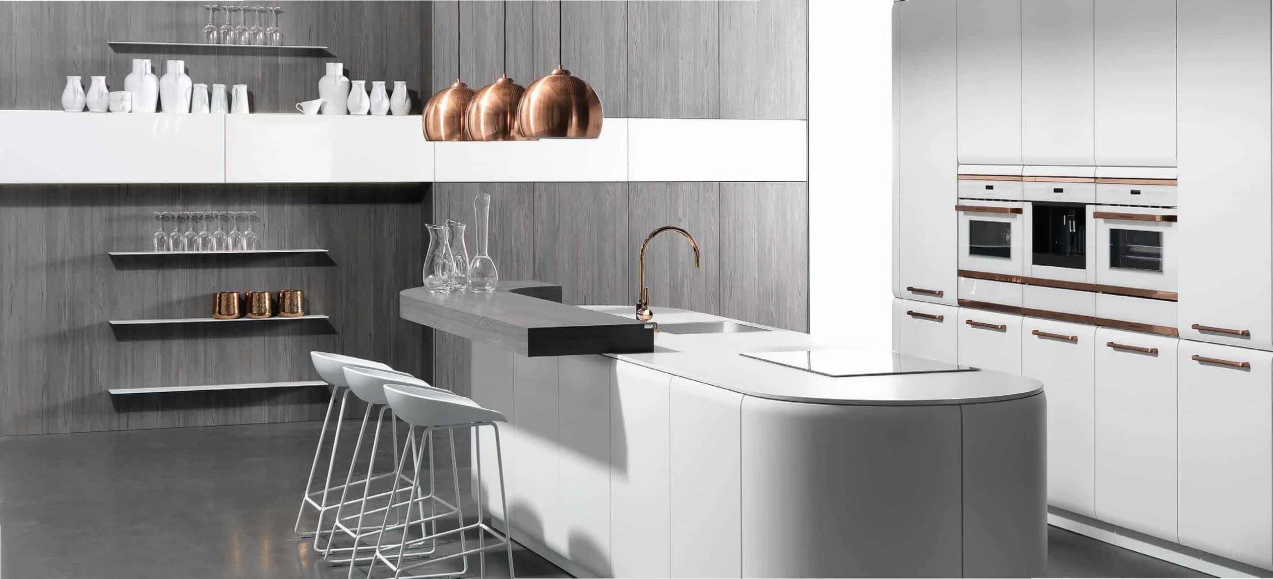 Küchen in weiß - Lieblingsküchen Rostock - wo Sie ihre Küche kaufen